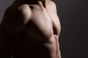 Man With Masculine Chest