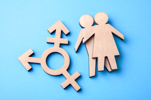 transgender and silhouettes of man and woman of wood-img-blog